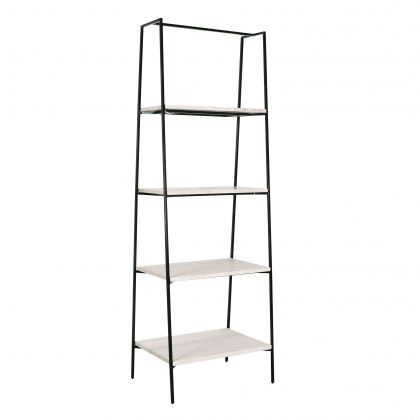 Shelving Unit with marble - Adele - Beige Marble