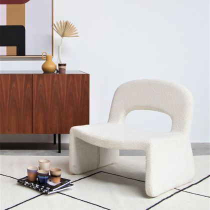 Relax Fauteuil - Boucle Wit - Esmee