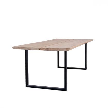 Dining table in Natural Oak - Lex - 240cm