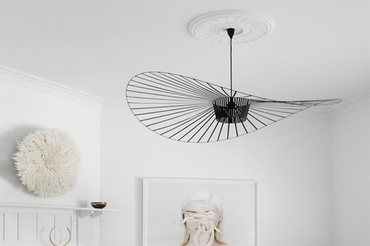 speciale lamp in huis